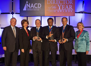 NACD 2010 Director of the Year Award Winners