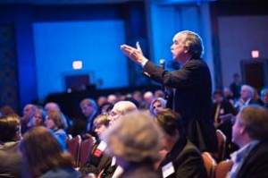 A lively discussion from the crowd of 750 directors at the 2010 NACD Corporate Governance Conference