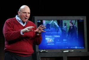 Microsoft CEO Steve Ballmer at CES